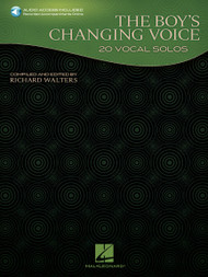 The Boy's Changing Voice (20 Vocal Solos) w/Online Audio by Richard Walters