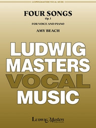 Four Songs for Voice and Piano Op. 1 by Amy Beach