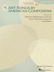 15 Art Songs by American Composers for High Voice