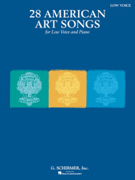 28 American Art Songs for Low Voice and Piano
