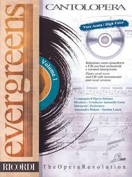 EVERGREENS Cantolopera Series  High Voice, Vol. 1