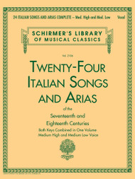 CLOSER LOOK 24 ITALIAN SONGS & ARIAS COMPLETE Medium High and Medium Low Voice