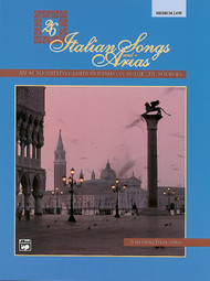 26 Italian Songs and Arias (Medium Low)