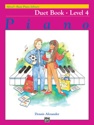 Alfred's Basic Piano Library - Duet Book Level 4