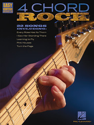 4 Chord Rock for Easy Guitar with Notes & Tab