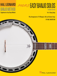 Hal Leonard Banjo Method - More Easy Banjo Solos (2nd Edition)
