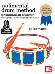Rudimental Drum Method for the Intermediate Drummer (Book/CD Set)