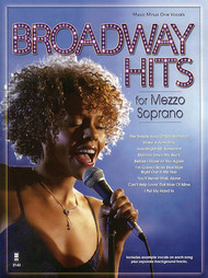 Broadway Hits for Mezzo Soprano (Music Minus One)