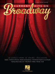 Current Hits on Broadway - Piano/Vocal/Guitar