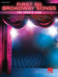 First 50 Broadway Songs (High Voice) - Piano/Vocal Songbook