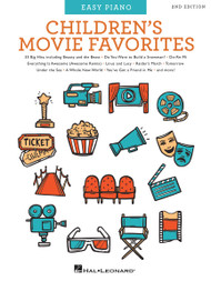 Children's Movie Favorites (2nd Edition) - Piano/Vocal/Guitar