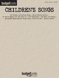 Children's Songs (Budget Books) - Piano/Vocal/Guitar