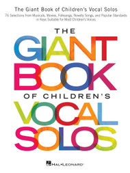The Giant Book of Children's Vocal Solos - Piano/Vocal/Guitar