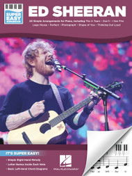 Ed Sheeran - Super Easy Songbook for Keyboard
