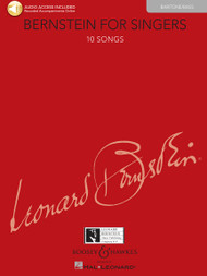 Bernstein for Singers - 10 Songs (Baritone/Bass) w/Audio Access