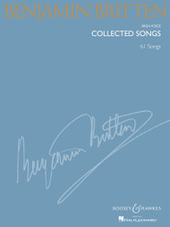 Benjamin Britten Collected Songs - 63 Songs (High Voice)