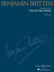 Benjamin Britten Collected Songs - 60 Songs for Medium/Low Voice