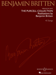The Purcell Collection - Realizations by Benjamin Britten - 45 Songs (Medium/Low Voice)