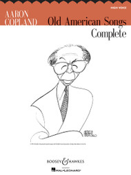 Aaron Copland Old American Songs Complete - High Voice