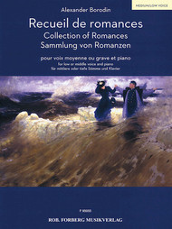 Alexander Borodin Collection of Romances for Medium/Low Voice