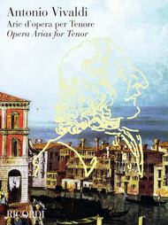 Antonio Vivaldi Opera Arias for Tenor (Ricordi)