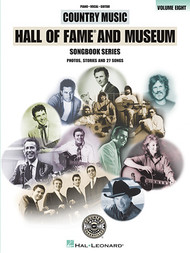 Country Music Hall of Fame - Volume Eight - Piano/Vocal/Guitar Songbook