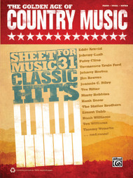 The Golden Age of Country Music - Piano/Vocal/Guitar