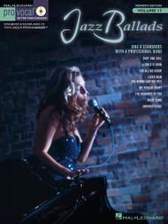 Jazz Balads - Pro Vocal Women's Edition Vol 17