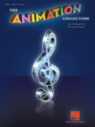The Animation Collection (Over 60 Songs from TV and Movies) - Piano / Vocal / Guitar