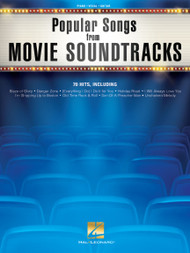 Popular Songs from Movie Sountracks (70 Hits) - Piano / Vocal / Guitar