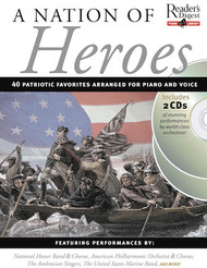 Nation of Heroes - Reader's Digest Piano Library Book/2-CD Pack