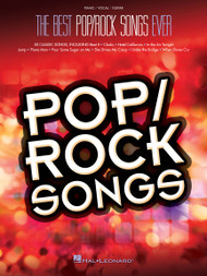 The Best Pop/Rock Songs Every - Piano / Vocal / Guitar
