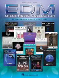 EDM Sheet Music Collection - Piano / Vocal / Guitar