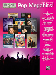 10 for $10 Pop Megahits! Piano / Vocal / Guitar