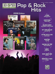 10 for $10 Pop & Rock Hits - Piano / Vocal / Guitar (Shelf Worn)