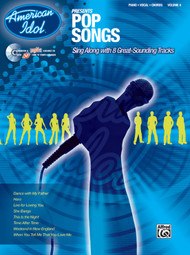 American Idol Presents - Pop Songs Vol 4 - Piano / Vocal / Guitar (SHELF WORN)