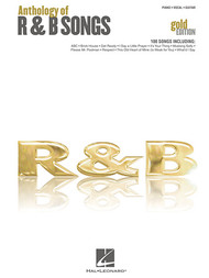 Anthology of R & B Songs (Gold Edition) - Piano / Vocal / Guitar
