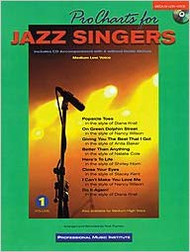Pro Charts For Jazz Singers - Medium Low Voice w/ CD