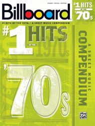 Billboard #1 Hits of the '70s for Piano/Vocal/Guitar