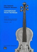 Contemporary Violin Technique Volume Two by Ivan Galamian & Frederick Neumann