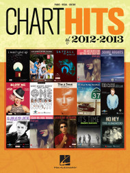 Chart Hits of 2012-2013 for Piano/Vocal/Guitar