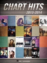 Chart Hits 2013-2014 for Piano/Vocal/Guitar