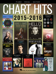 Chart Hits 2015-2016  for Piano/Vocal/Guitar