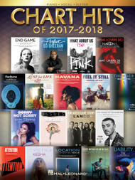Chart Hits of 2017-2018 for Piano/Vocal/Guitar