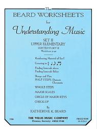 The Beard Worksheets for Understanding Music - Set II Upper Elementary