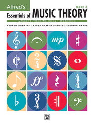 Alfred's Essentials of Music Theory - Book 3