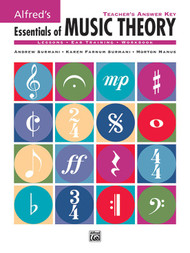 Alfred's Essentials of Music Theory - Teacher's Answer Key