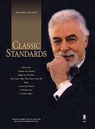 Classic Standards (Music Minus One Vocals) - Voice w/CD Accompaniment Songbook