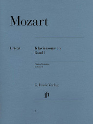 Mozart - Piano Sonatas Volume I