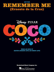 Remember Me (from Coco) for Easy Piano Solo